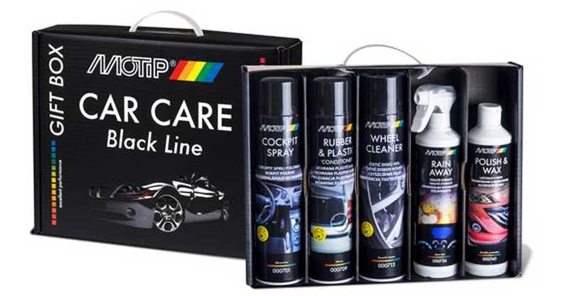 Motip Car Care black