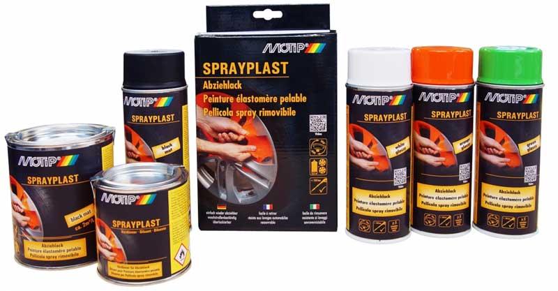 Sprayplast - barva, ki se odlepi