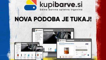 Prenova spletne trgovine Kupibarve.si